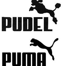 Puma verslindt Pudel